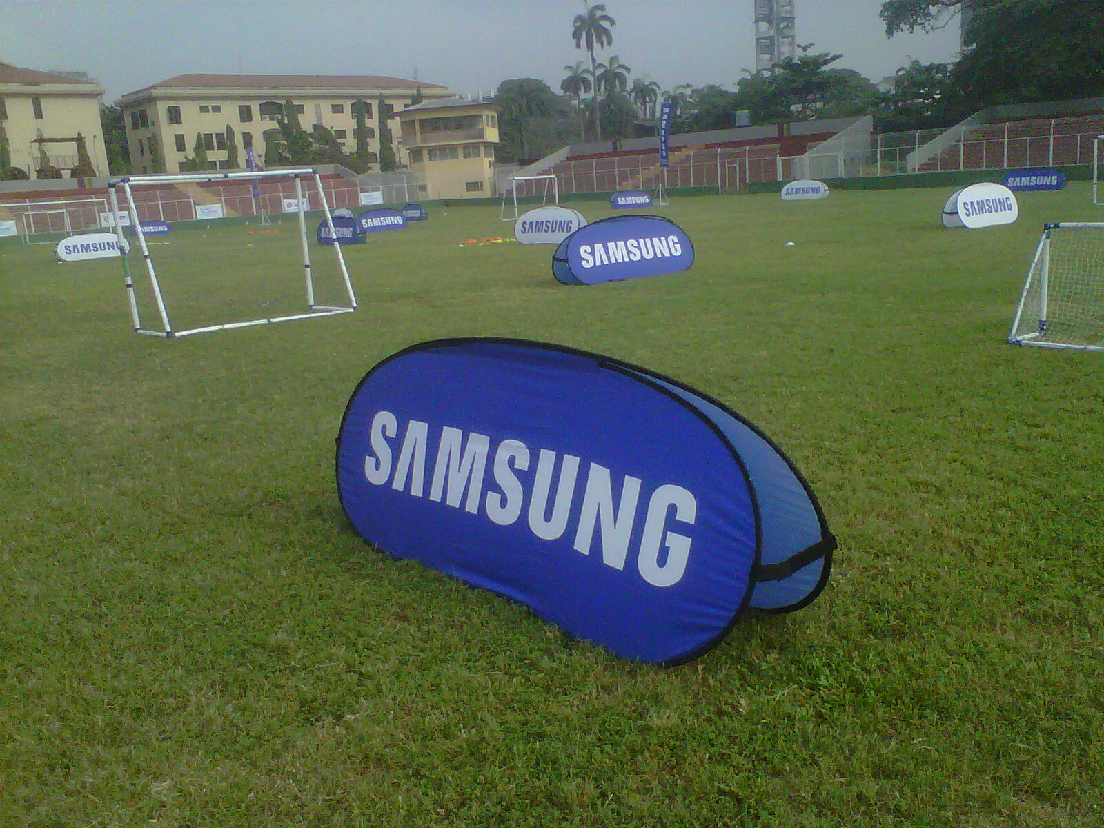 Ekofootball/Samsung Dream The Blues